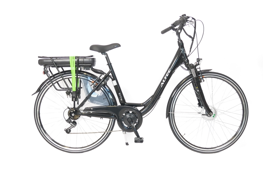 Altec City E-Bike Dames 480Wh Zwart 6-sp 2020 Nieuw