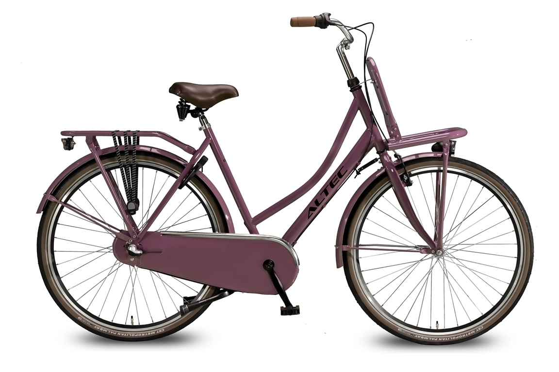 Altec Dutch 28 inch Transportfiets Dark Rose 57 cm